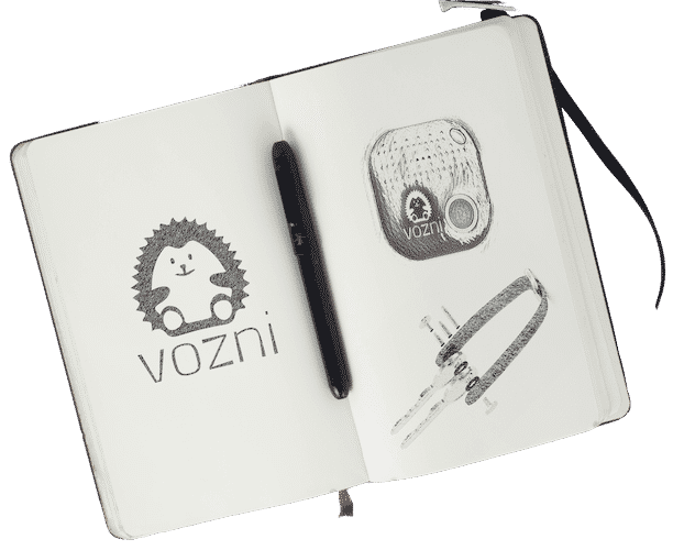 Vozni Product Sketches